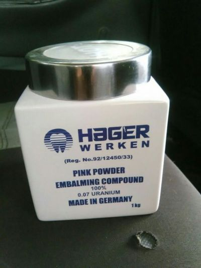 Active Hager Werken embalming powder +27780016959 made in Germany, available in Johannesburg South Africa.  Embalming is the art and science of preserving human remains by treating them (in its modern form with chemicals) to forestall decomposition....