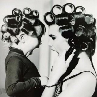 Like mother, like daughter: Rollers, Little Girls, Mothersday, Photo Ideas, Mothers Day, Mothers Daughters, Pictures, Hair, Photography