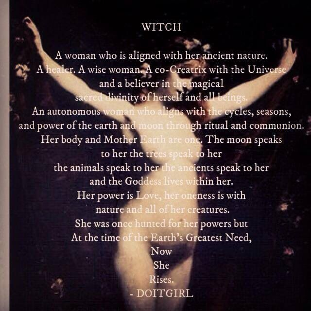 Goddesses and Witches
