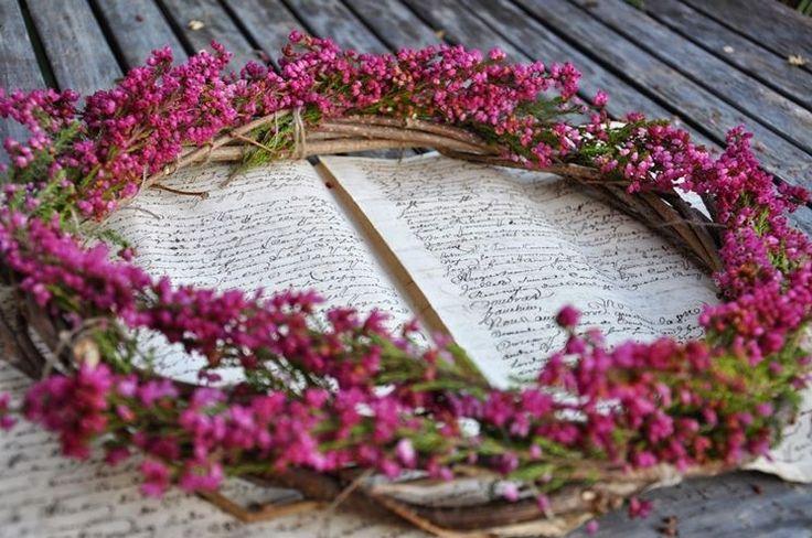 I fiori di erica calluna si possono usare per realizzare decorazioni e centri tavola