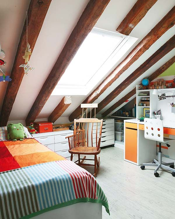 A rooftop apartment full of sweetness in Madrid