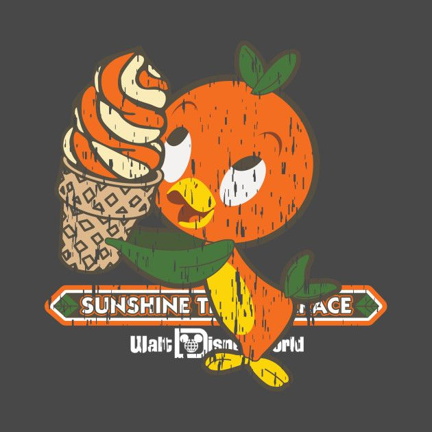 Florida Orange Bird Disney