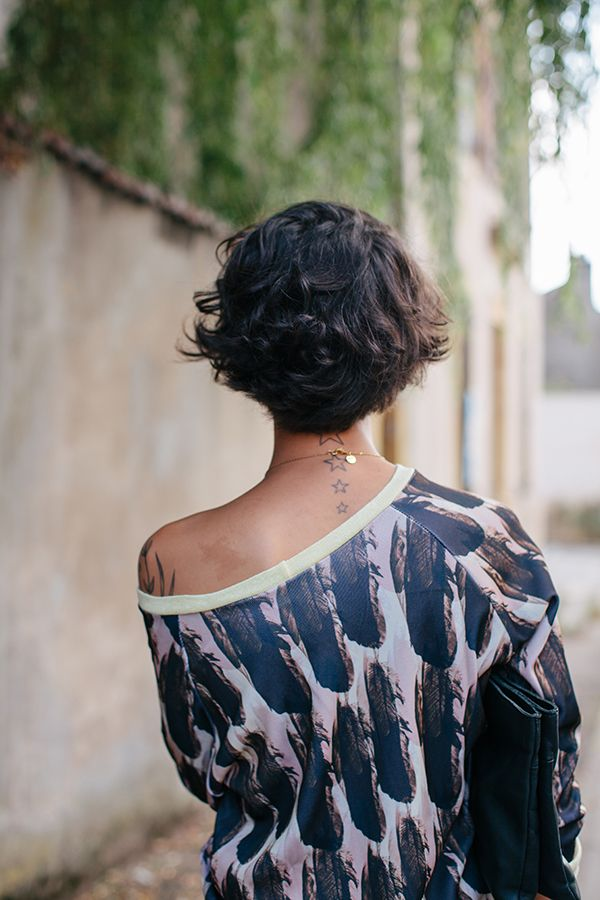 Sweat (shirt) Plume Milton top by French design studio Lein Boho. via et pourquoi pas Coline