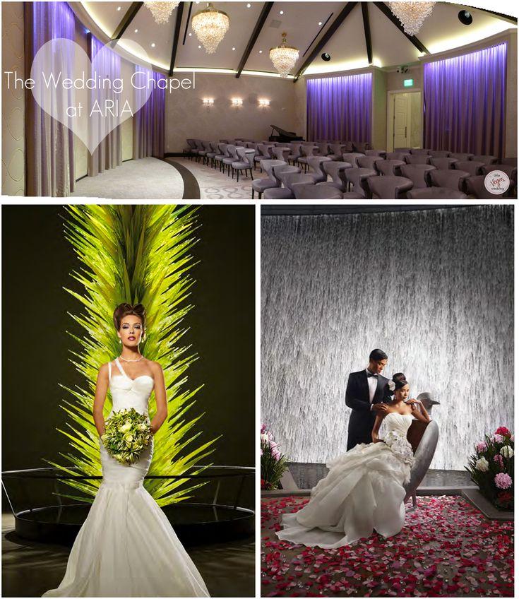 avant garde wedding chapel aria