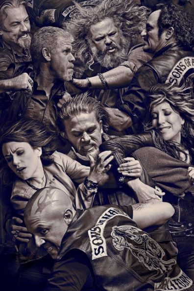 Sons of Anarchy - The BEST TV series I've ever watched (Breaking Bad coming a close second)