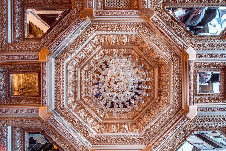 Деревянный потолок Джоли   grandecor.ru