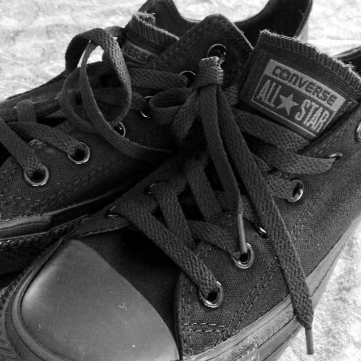 Chucks converse black