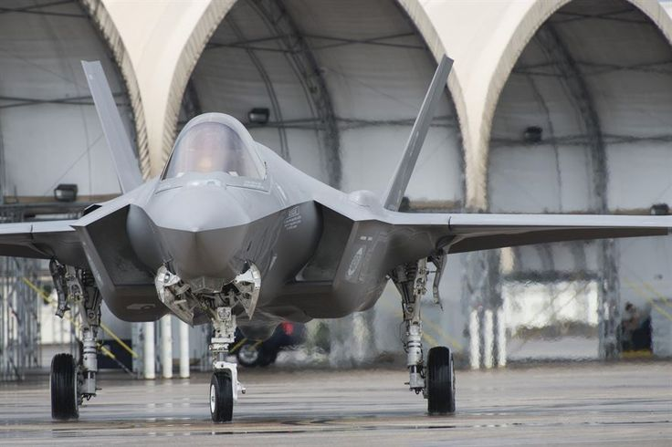 An F-35A taxis down the flightline Aug. 2, 2016, at Eglin Air Force Base, Fla. The F-35A is the latest deployable fifth generation aircraft capable of providing air superiority, interdiction, suppression of enemy air defenses and close air support as well as high-fidelity command and control functions through fused sensors, and provide pilots with unprecedented situational awareness of the battlespace. (U.S. Air Force photo by Senior Airman Stormy Archer)