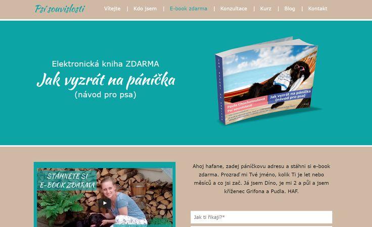 Pavla Chocholoušová a její ebook ZDARMA: Jak vyzrát na páníčka (návod pro psa)
