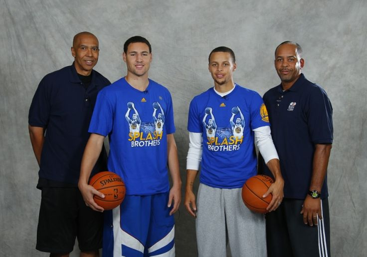 On Friday, September 20, Warriors guards Stephen Curry and Klay Thompson, along with their fathers, former NBA players Dell Curry and Mychal Thompson, hosted the first-ever Splash Brothers Parent-Child Fantasy Basketball Clinic. The event, presented by Kaiser Permanente, benefited the Warriors Community Foundation.