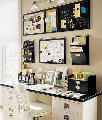 office area...for my small, small, microscopic office space . For Jen's small office , this would be PERFECT ! I Wanna do it !