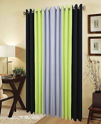 Green Curtains black and green curtains : Black And Lime Green Curtains - Curtains Design Gallery
