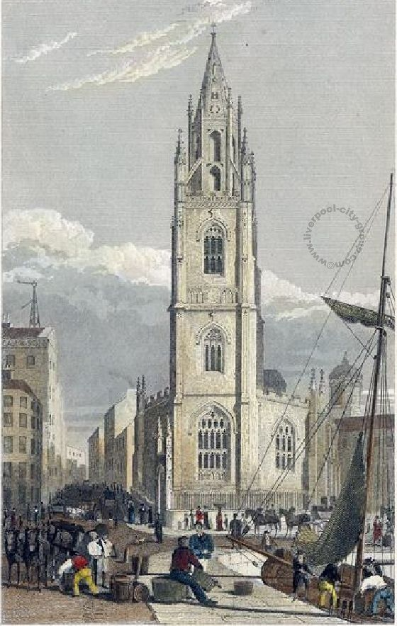 Liverpool, history, liverpool-history-l2-chapel-street-st-nicholas-1831