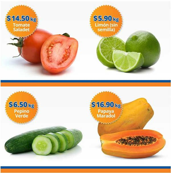 Frutas y verduras Chedraui 15 y 16 de Noviembre