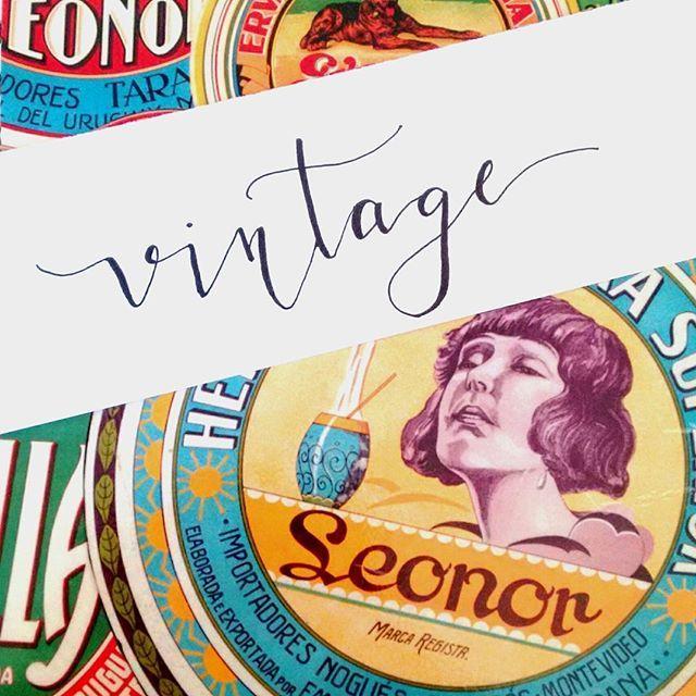 Vintage - Faux Calligraphy @nocaminhodasletras