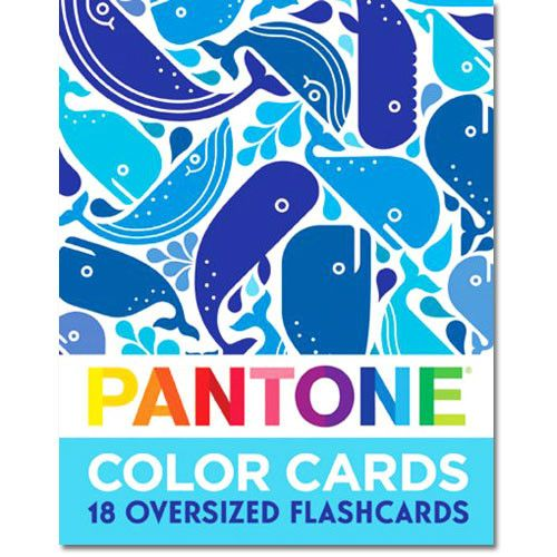 Pantone Color Cards - Color Flashcards