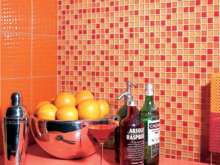 Imagen de pisos y azulejos de cocinas mosaics for Pisos y azulejos