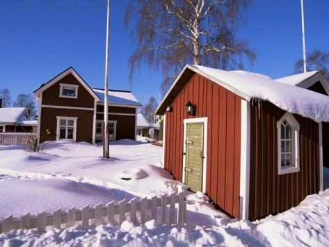 Gammelstad (Lulea Old City) UNESCO World Heritage Site, Lapland, Sweden, Scandinavia, Europe