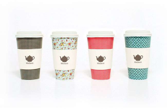 gorgeous packaging for Mallard Tearooms by www.sarah-walsh.co.uk #sarahwalsh #teapot #coffeecup #patterns #Mallard #Tearooms: Graphic Design, Mallard Tea, Tea Time, Idea, Package Design, Pattern, Packaging, Teas, Coffee Cups