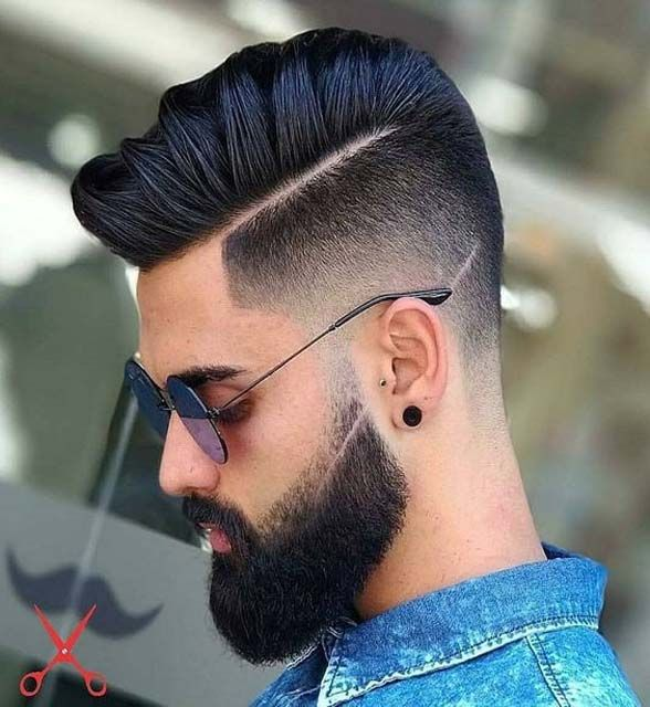 Men Hair Style Fashion 2018 Hairs Beard Styles For Man