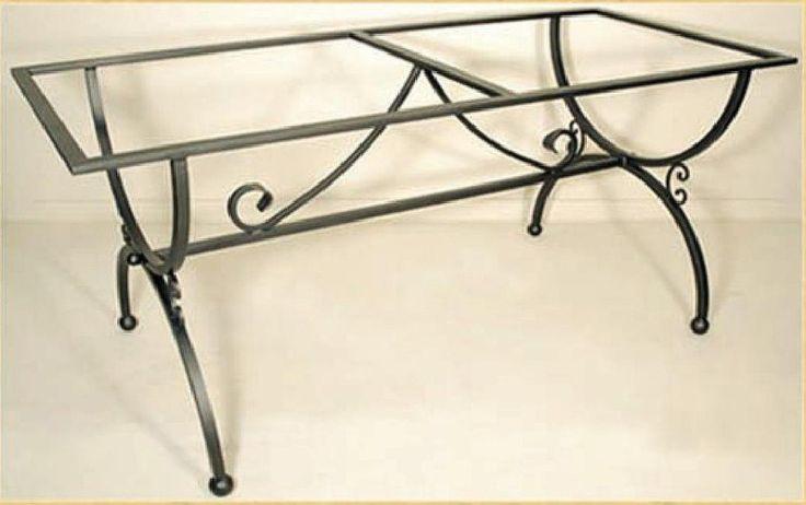 Oltre 25 fantastiche idee su basi per tavoli su pinterest - Tavoli da pranzo ferro battuto e vetro ...