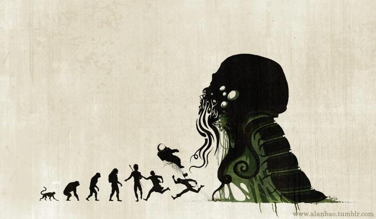 """Lovecraftian Darwinism"" by Alan Bao."