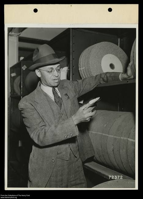 African Americans working for Henry Ford
