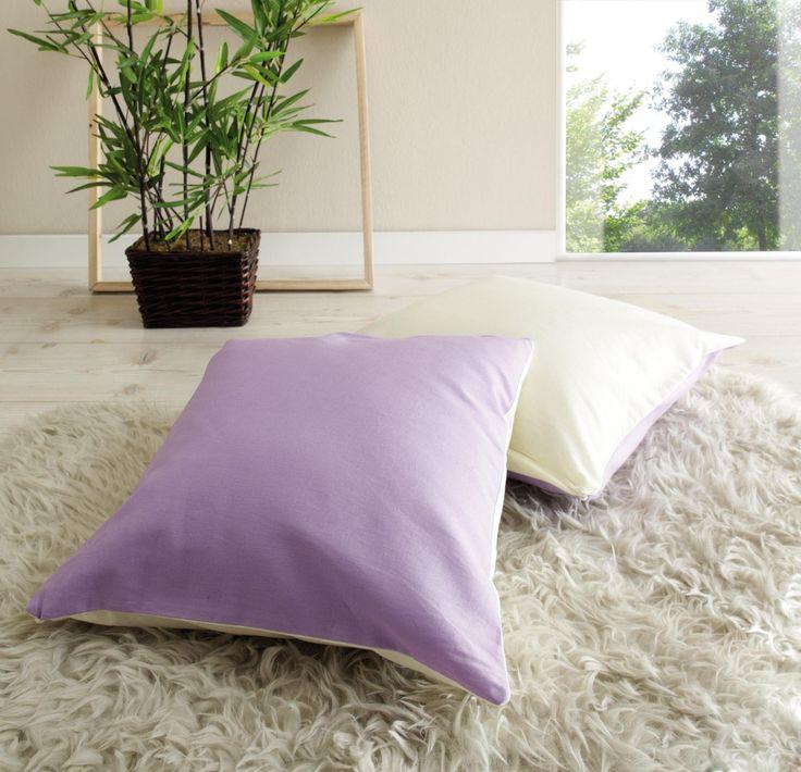 die besten 25 lila kissen ideen auf pinterest bett mit kissen lila raumdekorationen und. Black Bedroom Furniture Sets. Home Design Ideas