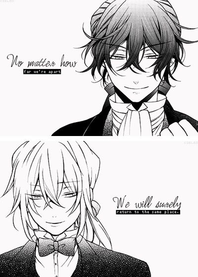 """No matter how far we're apart, we will surely return to the same place, because that's our fate."" 