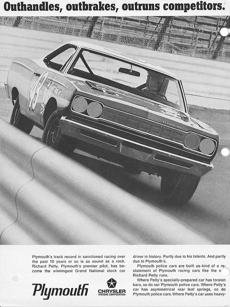 #Plymounth #43 #Racingcar