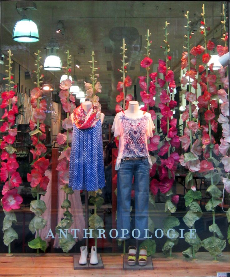 #WestBroadwayNewYork #Anthropologie Window Display Shop | Store | Retail | Window | Display | Visual Merchandising