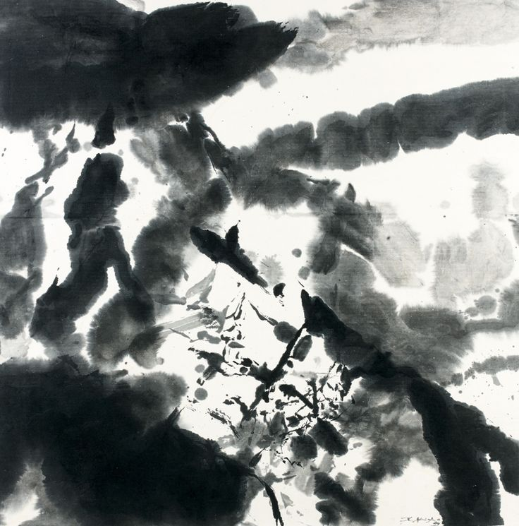 Zao Wou-ki (1920-2013), Sans titre - 1999. Photo ARTCURIAL - BRIEST-POULAIN-F.TAJAN
