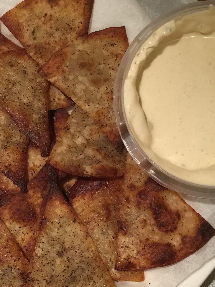 speltlompe chips