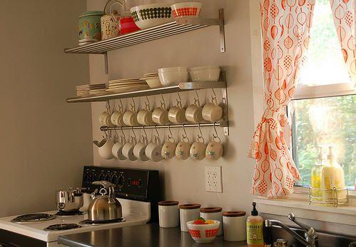 55 Desain Rak Dapur Minimalis dan Gantung