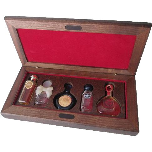 Miniature Perfume Set Vintage 1980s Byzance Caleche Givenchy Cabochard Van Cleef Arpels  $75