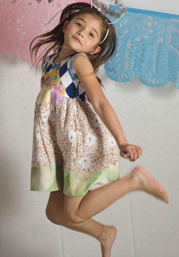 las tres muñecas - PiNk tomaTiNa little girl dresses www.pinktomatina.co