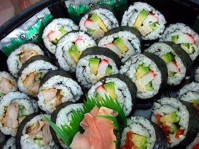 Sushi: California Roll