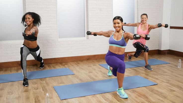 Get in shape fast with this cardio sculpt workout from Jeanette Jenkins - The…