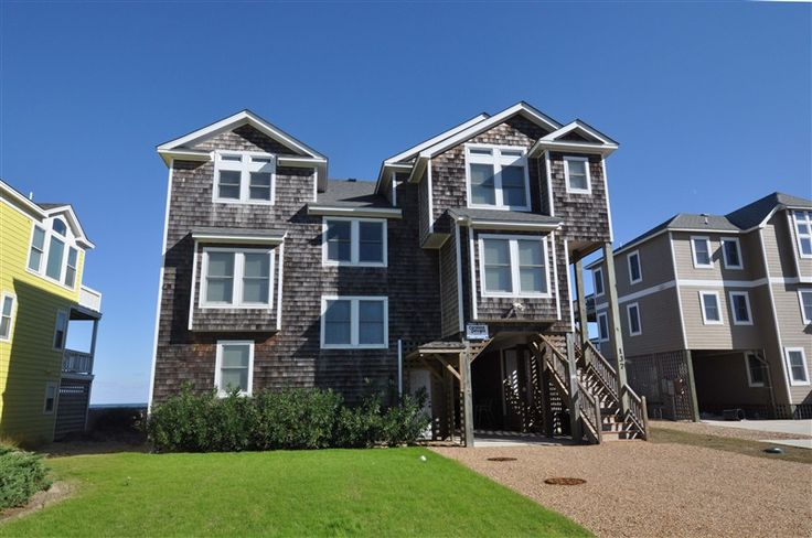 Stairway To Heaven 707 L Duck Nc Outer Banks Vacation Rental Home L Oceanfront Home