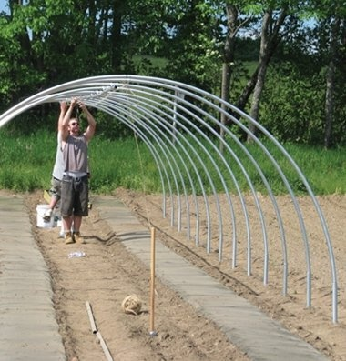 Greenhouse Conduit Bender For High Tunnel 7 Foot High And