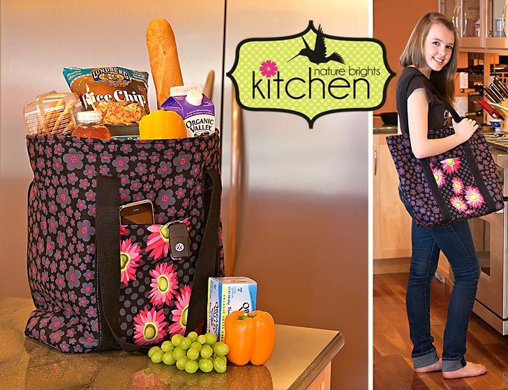 insulated reuseable shopping bag - make some for shopping & for field auction / picnics hot or cold!