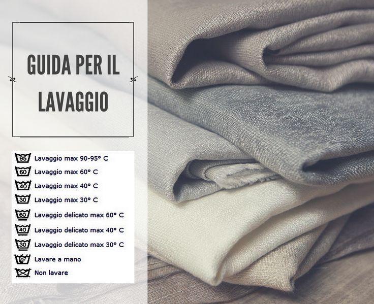 COME LAVARE LE TENDE Se il disegno riporta un recipiente, occorre fare attenzione al numeretto presente nello stesso (che indica la temperatura da impostare) o alla X (se occorre rivolgersi in lavanderia per un lavaggio a secco) #tessuti #interiordesign #tendaggi #textile #textiles #fabric #homedecor #homedesign #hometextile #decoration #ctasrl Visita il nostro sito www.ctasrl.com e scarica le nostre brochure su:http://bit.ly/1nhrLQM