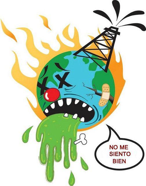 El planeta está enfermo. Descubre las causas