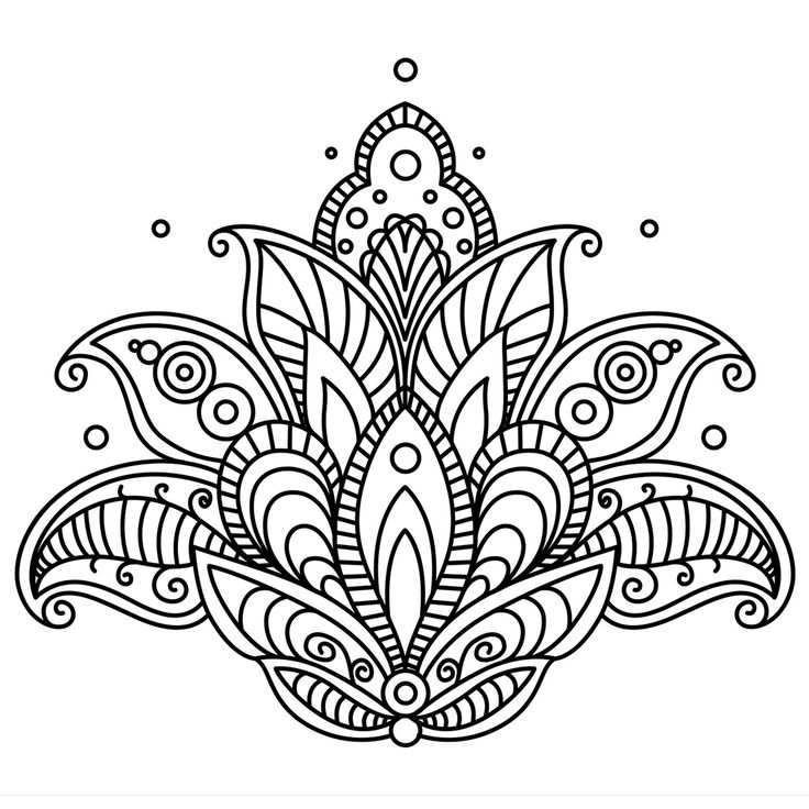 Mandala, coloriage mandala en ligne