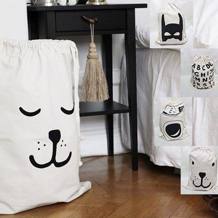 Juguetes de Bebé Oso De Almacenamiento Bolsas de lona Batman Colgante de lavandería utilidad de bolso de lazo   Casa y jardín, Materiales de limpieza para el hogar, Organización del hogar   eBay!
