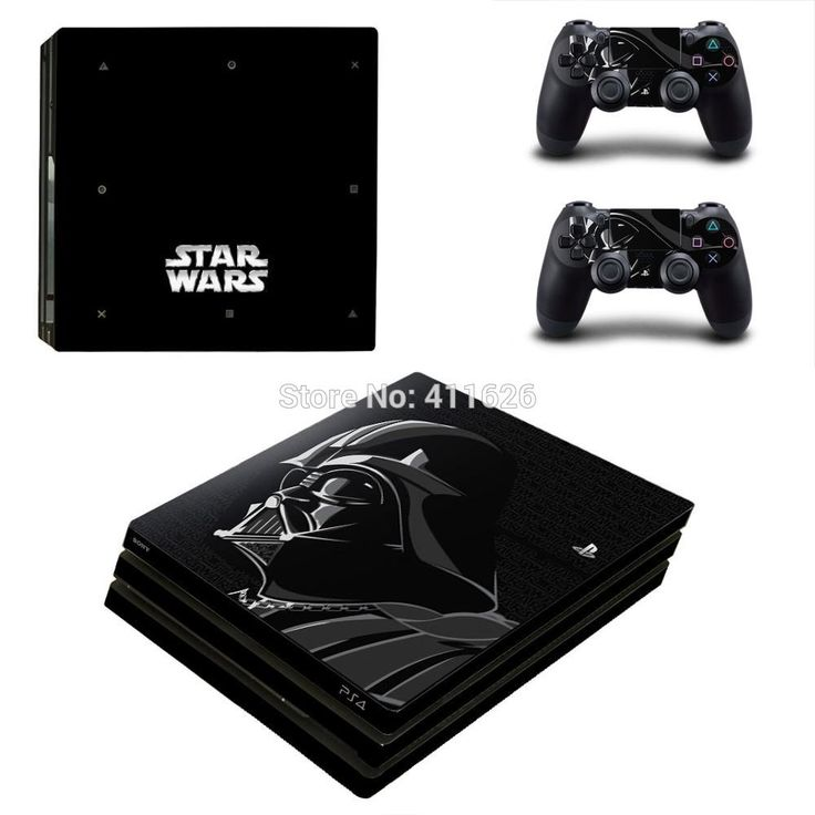 Star Wars Vinyl Cover Decal For PS4 Pro Skin Sticker for Sony PlayStation 4 Pro Console 2 Controllers Skins