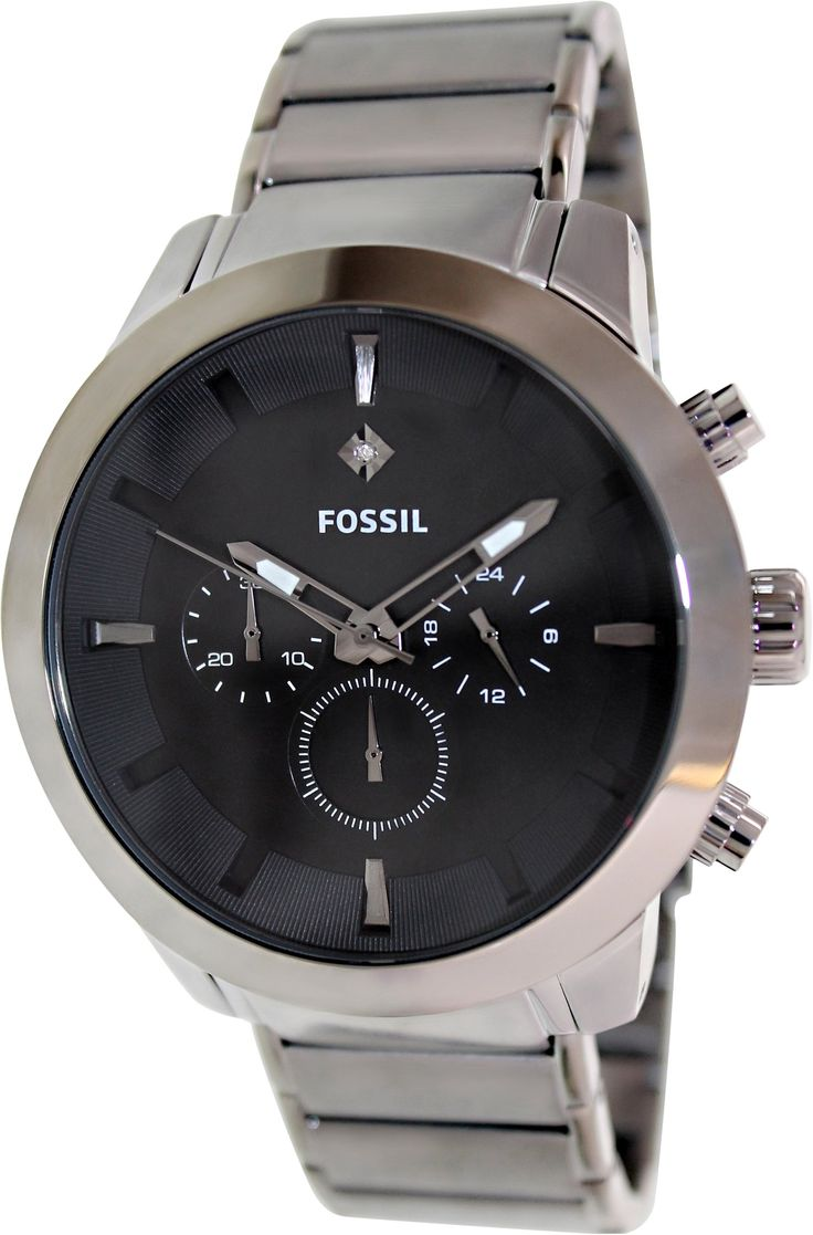 31 best images about fossil swiss automatic watches fossil men s fs4680 black stainless steel quartz watch black dial fossil amazon