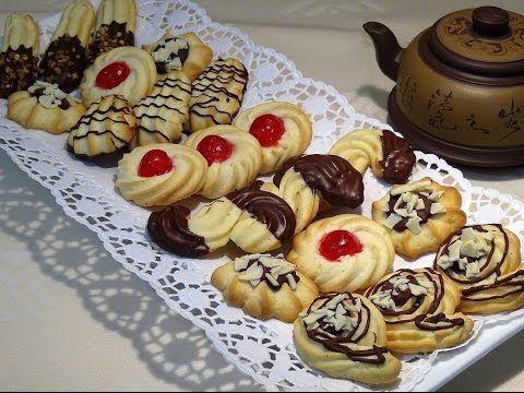 Galletas rizadas o pastas de té en la Comunidad de Cocina - Hogarmania.com