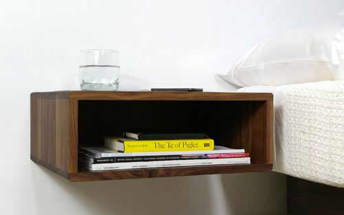 Darin Montgomery and Trey Jones are frequent collaborators for urbancase LLC, a Seattle based design firm, and they share with us the process behind their Floating Side Table.: Modern Furniture, Floating Shelves, Wall Mount, Edge Tables, The Edge, Wall Shelves, Bedside Tables, Night Stands, Urbanca