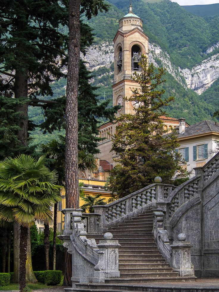 Chiesa di San Lorenzo, Tremezzo, Lake Como, Italy